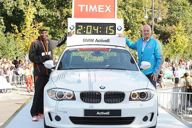 BMW BERLIN-MARATHON: 39. BMW BERLIN-MARATHON 2012