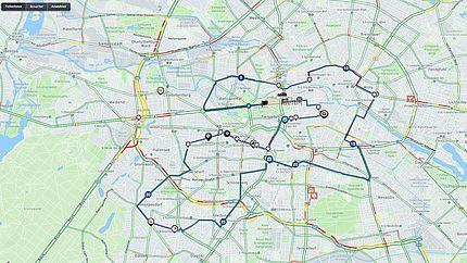 Berlin marathon 2020 strecke