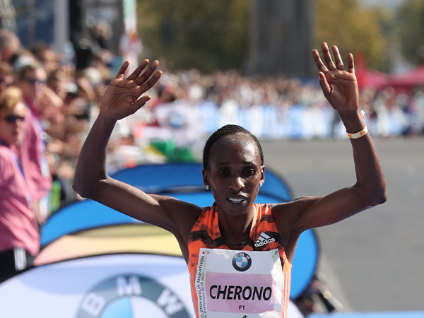 Gladys Cherono (KEN) - Winner of the 2018 BMW BERLIN-MARATHON returns in 2019