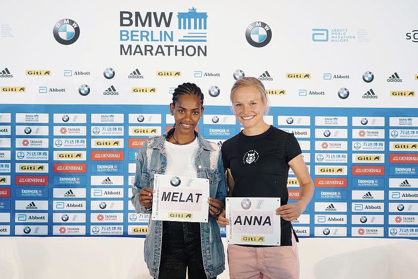 Two German Female Elite Runners will start at the 2019 BMW BERLIN-MARATHON