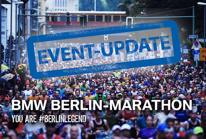 Important information concerning the BMW BERLIN-MARATHON 2020