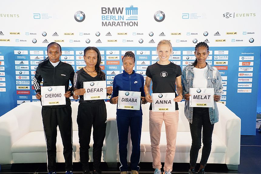 BMW BERLIN-MARATHON 2019 Female Elite Runners