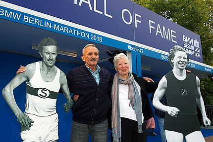 Meet life-size legends at the BMW BERLIN MARATHON Hall of Fame