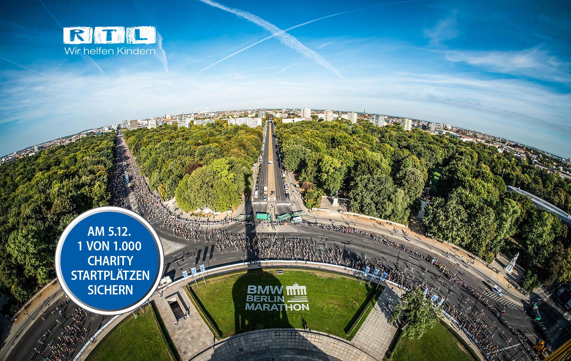 BMW BERLIN-MARATHON: 1.000 Charity-Startplätze für den BMW ...