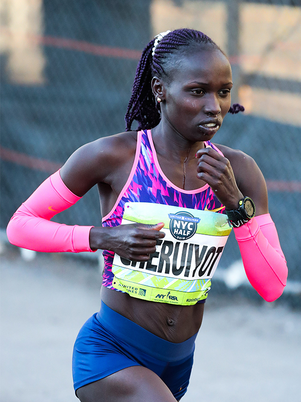 Vivian Cheruiyot (KEN) will be racing the 2019 BMW BERLIN-MARATHON