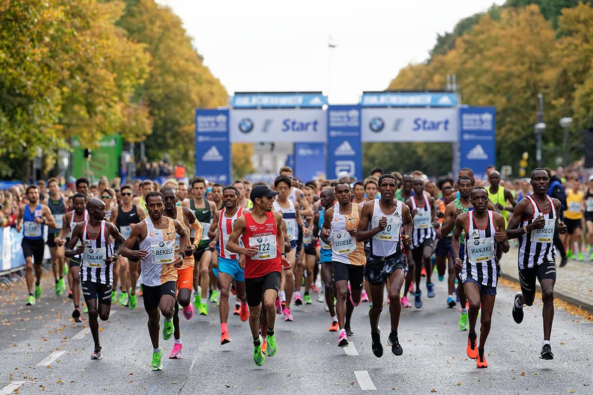 Marathon Berlin Strecke 2021
